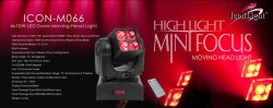 Zoom Moving Head Stage Light (ICON-M066)