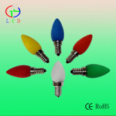 LED C7 colored bulbs