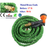 X-HOSE/MAGIC GARDEN HOSE/EXPANDABLE GARDEN HOSE WITH BRASS FITTING