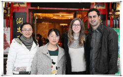 Clients from North America came to DONGFANG