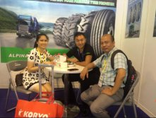 Alpina tires in 2016 Shanghai Citexpo show