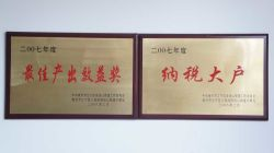 Honor is awarded by china state government to Nanjing square
