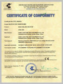 CE Certificate of mesh welding machine