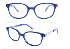 Metal and acetate optical frame for children