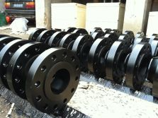 black painting forged flange