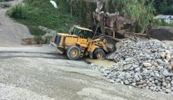 Lovol loaders in Indonesia