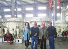 Customers From Peru for Hydraulic Cone Crusher