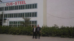 customers visit factory