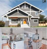 Seattle Green Lake House Project Customized Kitchen Cabinet!