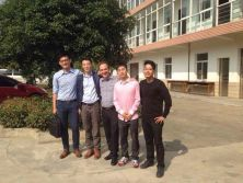 customer visit our factory -- talking about the coils