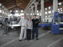 Ireland customers in our factory