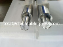 can put a logo on your titanium alloy anti-corrosive mould