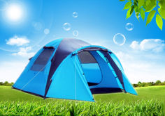 3 or 4 Persons Automatic Outdoor Waterproof Camping Tent
