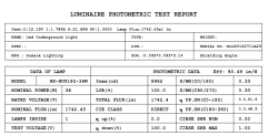 IES Report For HX-HUG185-36W