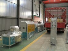 a HDPE Pipe Extrusion Line Is Ready for Shipment