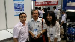 Photos with Customer in Tokyo Expo 2015