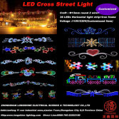 LED cross street light