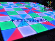 led dancing floor light workshop testing picture