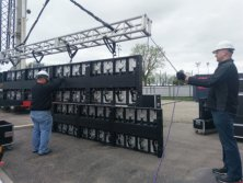 LED display project cost six steps in site