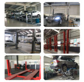 SHUNLI Two post car lift Serivice for 4S Car Shop