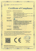 EMC certificate for led pool light