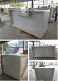 Factory Pre-Assemble on customized cuontertop product - Whole Piece
