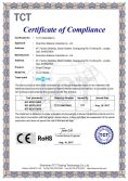 RoHS certification of QC charger TC-0118ZQ3