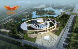 Papua New International Conference Center of office furniture from Hongye