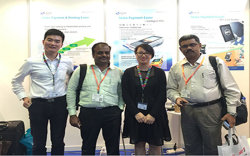 Customers And Us In Exhibition