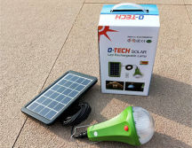 solar home light with 4lamp