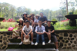Paishun Staff at Bali Island