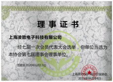 Shanghai Safety Products Association Membership Certificate
