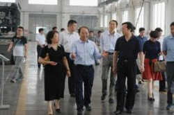 Jingrong Xie, Vice Chairman of China Federation of Industry and Commerce Visited LandGlass