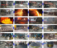Jaw crusher parts process