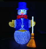 LED Snowman christmas lights BW-SC-075