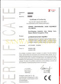 CE-EMC Certification of FP Series Amplifier