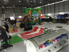 Inflatable printing line