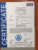 CE certificate for Electric Fryer