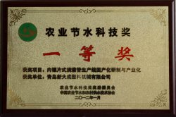 National First Prize for Drip Irrigation Pipe Machinery Batch Manufacture