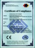 CE Certificate of Underwater Camera CR110-7H, 7HB