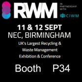 Recycling & Waste Management Exhibition Birmingham RWM2019