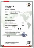 CE Certificate for Thermal Imaging Attachments