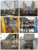 Commercial Concrete Plant In Shan′xi in March, 2013.