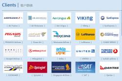 Our clients---Foreign airliners