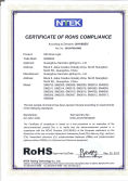 RoHS Certificate For HID Work Lights
