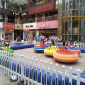 Arcade Fibreglass battery operated Bumper car on Shopping Mall