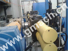 double piston continuous screen changer for recycling granulator