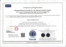 ISO22716 Certification