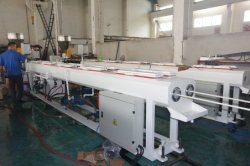 Double PVC Electric Conduit Pipe Production Line Testing