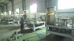 Eight stations rotary packing machines